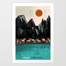 Peer Gynt - Grieg Art Print