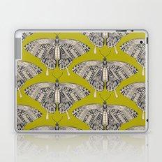 swallowtail butterfly citron basalt Laptop & iPad Skin