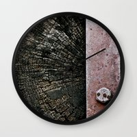 Wooden Energy Wall Clock