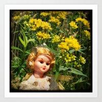Princess Goldenrod Art Print