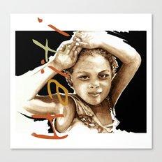 The Children Of Haiti Canvas Print