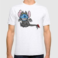 Toothless Stitch Mens Fitted Tee Ash Grey SMALL