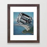 Costa Del Diamante Framed Art Print