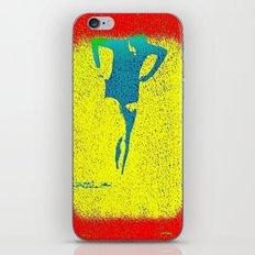 Woman Emerging (i) iPhone & iPod Skin
