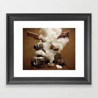 Caffeinated Framed Art Print