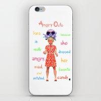Angryocto - Sara's Candy iPhone & iPod Skin