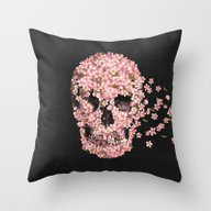 Throw Pillow featuring A Beautiful Death  by Terry Fan