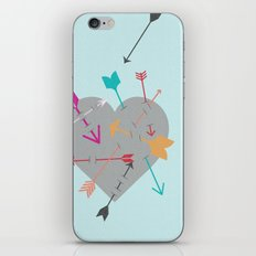 Arrow Heart iPhone & iPod Skin