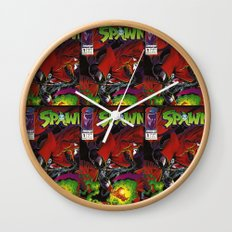 Spawn 1 cover Wall Clock
