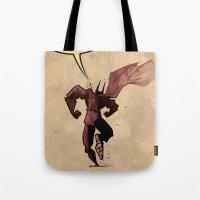 Action hero Tote Bag