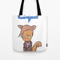 Doctor Meow (11th Doctor) Tote Bag