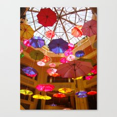 You Can Stand Under My Umbrella Canvas Print