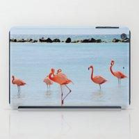 A Flamboyance of Flamingos iPad Case