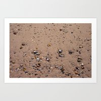 Beach Sand 7130 Art Print
