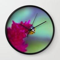 Color Me Beautiful Wall Clock