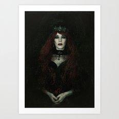 The Banished Queen Art Print