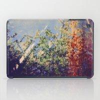 Holga Flowers IV iPad Case