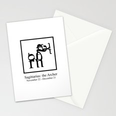Sagittarius: the Archer Stationery Cards