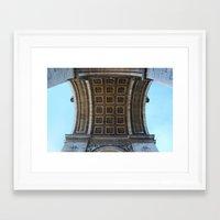 Arc de Triomphe, Paris, France Framed Art Print