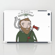 No Worries Woodsman iPad Case