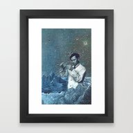 Framed Art Print featuring THE ALCHEMIST by Julia Lillard Art