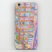 Wandering Amsterdam - Co… iPhone & iPod Skin