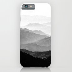 Mountain Mist - Black and White Collection iPhone 6s Slim Case