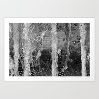 Forest of Fountains Art Print