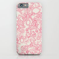 iPhone & iPod Case featuring Charming Pink by Becca Pike