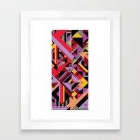 towel test Framed Art Print