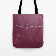 No. 2. A Study In Pink Tote Bag