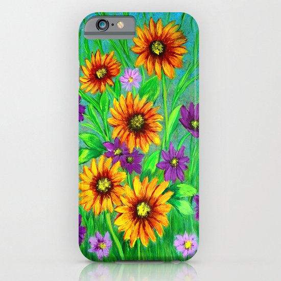 Flowers in my garden  iPhone & iPod Case