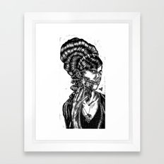 The Swarm Framed Art Print