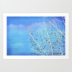 Thoughts in the Breeze Art Print