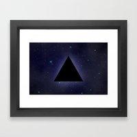 Wayfaring Triangle Framed Art Print