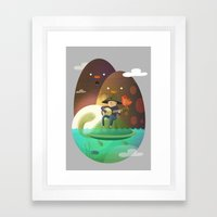 Island Lullaby Framed Art Print