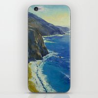 Big Sur California iPhone & iPod Skin