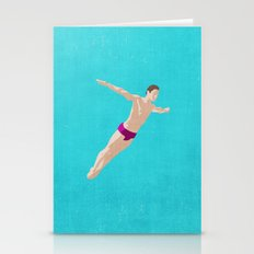 SUMMER GAMES / Diving Stationery Cards