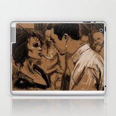 Marla & Tyler doodle Laptop & iPad Skin