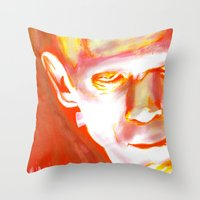 Frankenstein, What Etern… Throw Pillow
