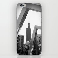 Sears Tower Sculpture Ch… iPhone & iPod Skin