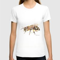 bee T-shirts featuring Bee by Elena Sandovici