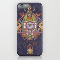 iPhone & iPod Case featuring Woodland Cuckoo by Janet Broxon