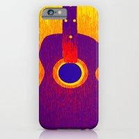 iPhone & iPod Case featuring Guitar 5 by Derek Donovan