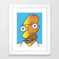 HOMER PICASSO Framed Art Print