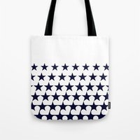 Love Among Stars Tote Bag