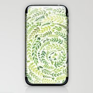 Leaf Pattern 2 iPhone & iPod Skin
