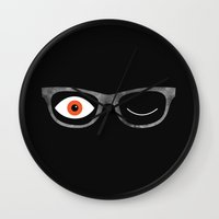 Space Specs Wall Clock