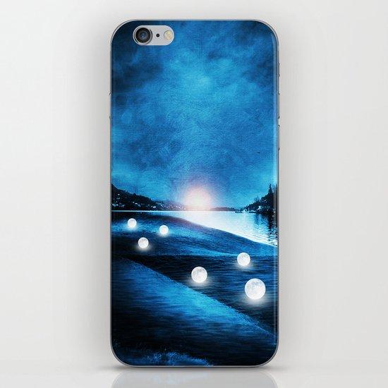 Field of lights iPhone & iPod Skin