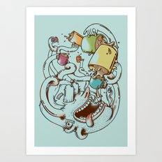 More Coffee Art Print